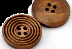 Gumb lesen, krogi, 25 mm