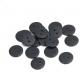 Gumb iz resina, 15 mm, črn