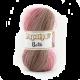 Akrilna preja Papatya Batik / roza-rjava 554-25 / 100 gr, 360 m